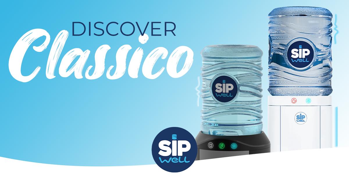 Nieuw bij SipWell: De Classico waterkoeler