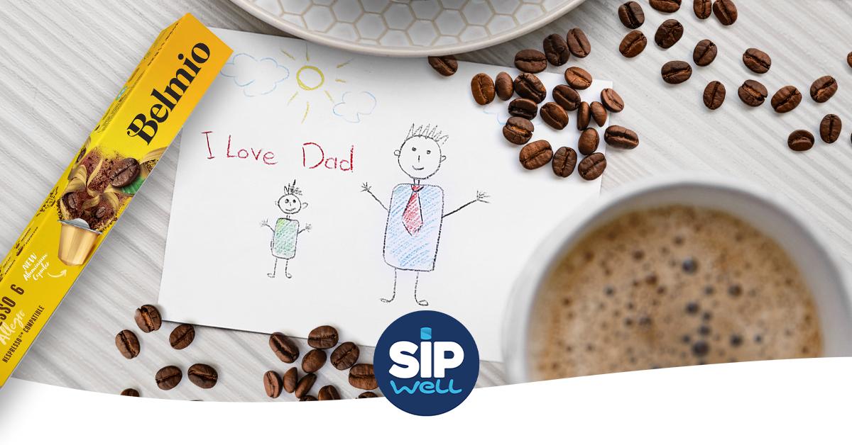 Beleef een buitengewoon koffiemoment tijdens Vaderdag!