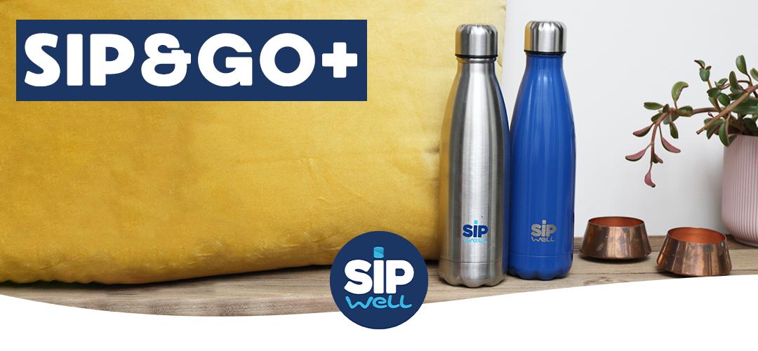 Sip&GO Plus - Drinkfles die 24u koud en 12u warm blijft!