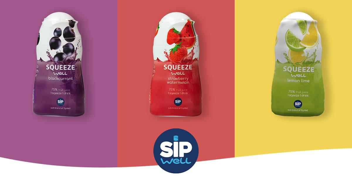 SqueezeWell: Verfrissende smaken voor in je water - zonder toegevoegde suikers!