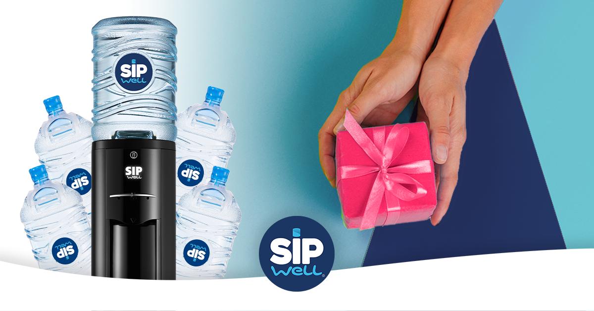 Breng een vriend aan als SipWell klant en krijg beiden 40 liter water cadeau!